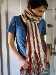 Striped Scarf Knitting Pattern Awesome Inspiration