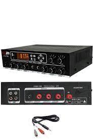 Lastvoice Medium-4 Tavan Hoparlör ve Anfi Ses Sistemi Paketi