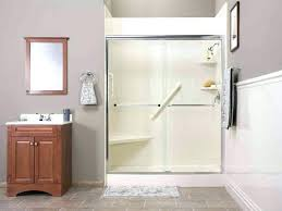 awesome lasco shower doors sensational fiberglass shower stalls