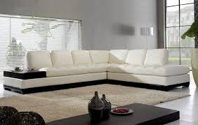 white modern l shaped sofa design ideas