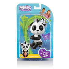 <b>Интерактивная игрушка</b> робот WowWee <b>Fingerlings</b> 3564 <b>панда</b> ...