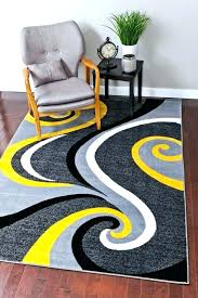 black and yellow rug black and yellow area rugs yellow abstract contemporary area rugs grey yellow