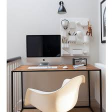 Ultimate ikea office desk uk stunning Spaces White Landing Office With Handy Wall Storage Ideal Home Small Home Office Design Ideas Ideal Home