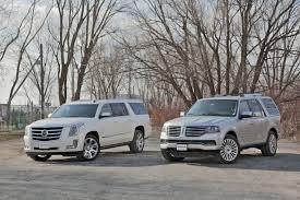 2015 Cadillac Escalade vs. 2015 Lincoln Navigator - YouTube