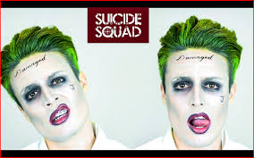 joker hairstyle joker hairstyle 135364 the joker from squad hairstyle tutorial makeup the joker from