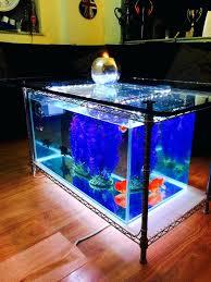 coffee table fish tank coffee table for diy tablesfish