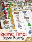 Rhyme Time: Kids' Fun Rhymes