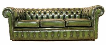 chesterfield sofa green