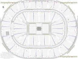 Bridgestone Arena Detailed Seating Chart Smoothie King Center Arena Seat Row Numbers Detailed Seating