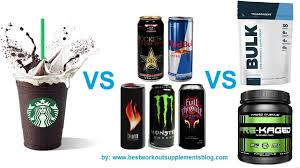 coffee energy drink or pre workout