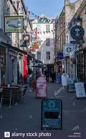 City Of Bath Somerset Uk Shops In City Centre Stock Photo