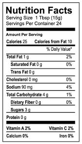 welchs g juice nutrition facts label