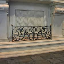 Antique Fireplace Fender - Realm of Design Inc.
