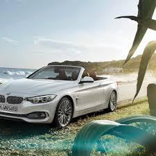 BMW Convertible bmw 4 series convertible white : 1k Super Beautiful BMW White 4 Series Convertible Car on Road ...