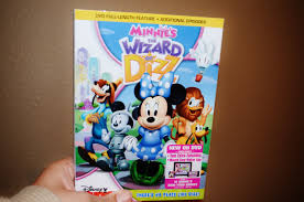 disney jr s minnie s the wizard of dizz dvd review giveaway disney minnie mouse dizz