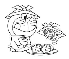 Tuyển tập tranh tô màu Doremon dành cho bé tập tô đẹp nhất - Zicxa books