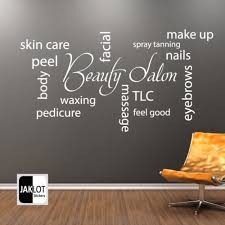 Beauty Parlour Quotes Best of Beauty Salon Collage Vinyl Wall Decal Barbershop Hair Shop Salon