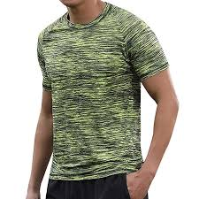 Ifomo Plus Size Quick Dry Short Sleeve T Shirt Mens At