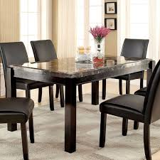 marble top dining room table. The Furniture Of America Jared Genuine Marble Top Dining Table Free For Room Remodel