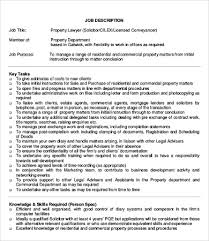 10+ Lawyer Job Description Templates - Pdf, Doc | Free & Premium ...