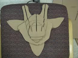 instructables diy cardboard animal bust