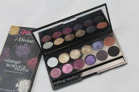 sleek makeup vine romance palette review