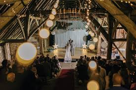 barn wedding lights. DIY Barn Wedding With Fairy Lights At The Great Titchfield Bride In Rolling Roses