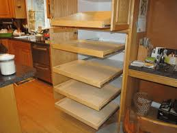 cabinet pull outs diy pull out shelves for stylish