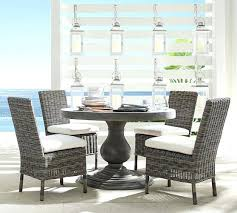pottery barn dining chairs concrete round dining table dining chair set pottery barn loose fit dining