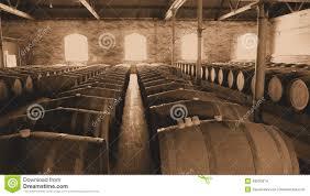 storage oak wine barrels. Royalty-Free Stock Photo Storage Oak Wine Barrels O