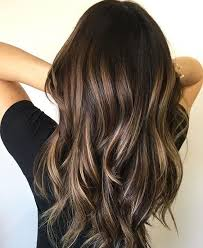 also a french word balayage means to sweep and refers to the sweeping or painting on process used to apply balayage highlights