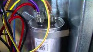 condenser capacitor wiring diagram images ac capacitor wiring hvac training dual run capacitor wiring