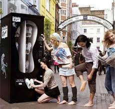 After Party Shoes Vending Machine Cool Running Shoes Vending Machine Craziest Gadgets