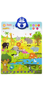 Amazon Com Just Smarty Electronic Interactive Alphabet Wall