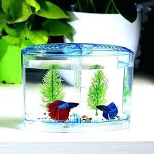 betta fish house beta fish plant tank bowl plant aquarium acrylic double bowl fighting fish mini