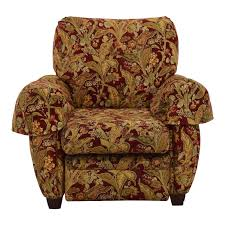 Burgundy Accent Chair 44 Off Lazy Boy Lazy Boy Burgundy Floral Recliner Chairs