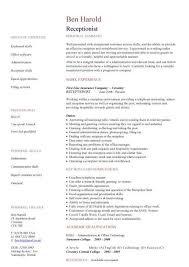 Pin Oleh Jobresume Di Resume Career Termplate Free Pinterest Magnificent Resume Examples For Receptionist Job