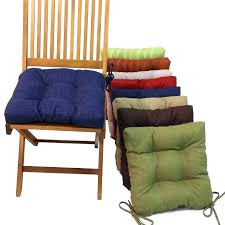 kitchen chair pads without ties chair pads with ties s dining chair cushions with ties chair