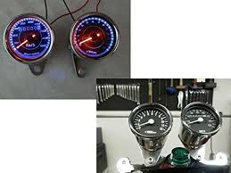 top 19 for best tachometer speedometer motorcycle odometer speedometer tachometer led for yamaha sr xv rx cafe racer suzuki honda harley