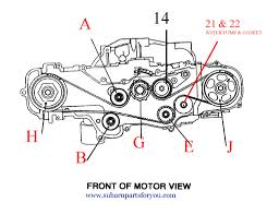picture on how to time a 2007 subaru engine to rs25 the picture on how to time a 2007 subaru engine to rs25