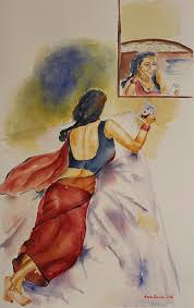 i miss you painting i miss you by geeta biswas