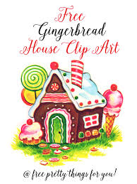 gingerbread house clipart. Modren Clipart Christmas Images Gingerbread House Clip Art Intended Clipart