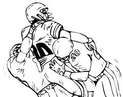 Nfl Football Player Coloring Pages Coloringstar