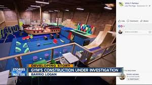 san go kgtv investigators are looking into what caused a platform to collapse at a san go indoor parkour gym over the weekend injuring nearly two