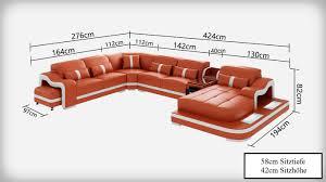 Modern G8027 Couch Couch Ledersofa Ecksofa Wohnlandschaft