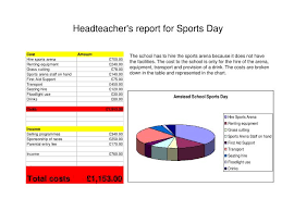 Ppt Headteachers Report For Sports Day Powerpoint