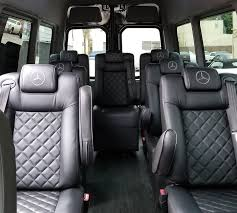 2017 mercedes benz sprinter van 9passenger interior