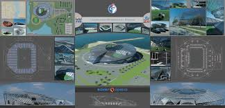 Стадион на зрителей в г Воронеж дипломный проект  Воронеж дипломный проект