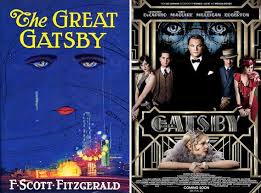 Book Vs Movie Venn Diagram Great Gatsby Movie Compared To The Book How Faithful Is It