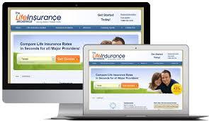 insurance website design development